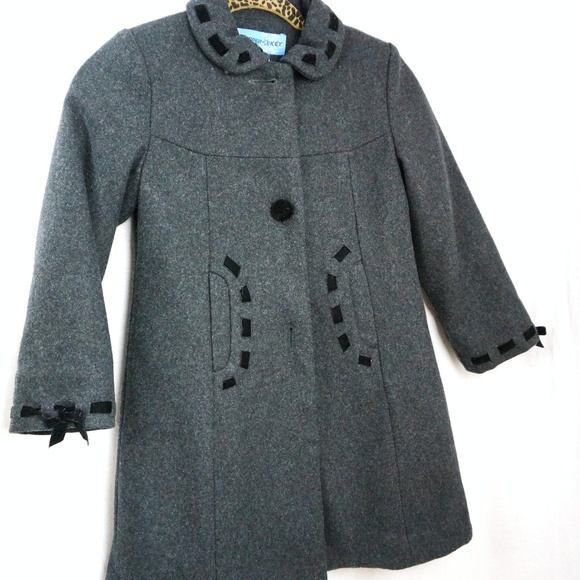 31a4472a1fe Copper Key Girls Size 6 6X Wool Pea Coat Jacket